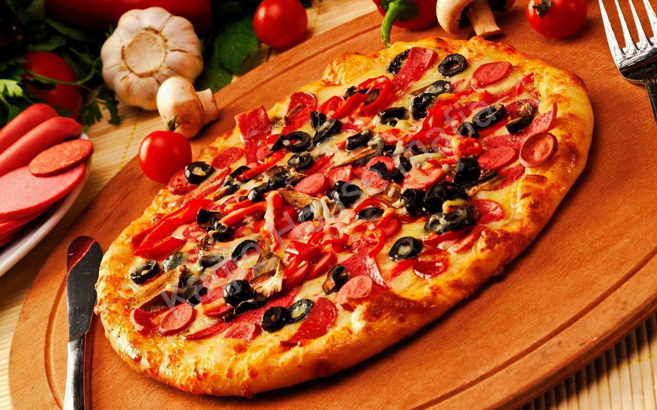 пицца для кафе рецепты